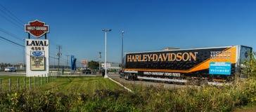 Harley-Davidson demo rides Stock Photos