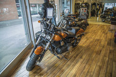 2014 Harley-Davidson, Dyna Fat Bob Imagenes de archivo