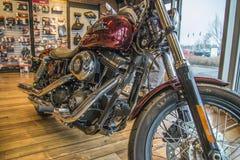 2013 Harley-Davidson, Dyna Street Bob Photos libres de droits
