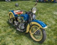 1936 Harley Davidson EL, EyesOn-Design, MI Lizenzfreie Stockfotografie