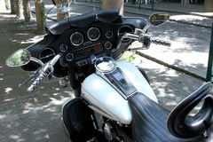 Harley Davidson Electra Glide stock foto's