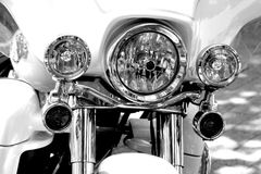 Harley Davidson Electra Glide. Famous American motorbike Harley Davidson Electra Glide Royalty Free Stock Image
