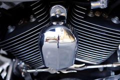 Harley Davidson Electra Glide. Famous American motorbike Harley Davidson Electra Glide Royalty Free Stock Photos