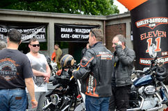 Harley-Davidson Eleven Bike Fest Fotografia Stock