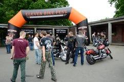 Harley-Davidson Eleven Bike Fest Immagine Stock Libera da Diritti