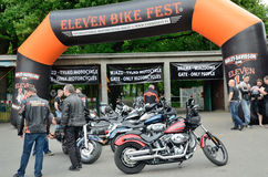 Harley-Davidson Eleven Bike Fest Stock Photo