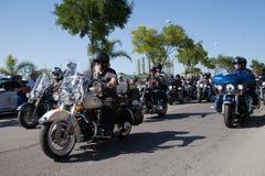 Harley Davidson European Rally-Straßen-Parade 2015 Lizenzfreie Stockbilder