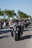 Harley Davidson European Rally 2015 Street Parade Stock Image