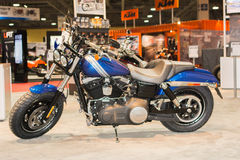 Harley-Davidson Fat Bob 2015 Arkivfoto