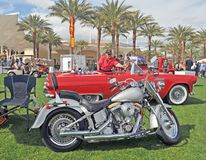 Harley-Davidson Fat Boy Royalty Free Stock Photography