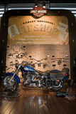 Harley Davidson Fit Shop Royalty Free Stock Images