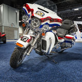 2016 Harley Davidson FLHTK Electra Glide Ultra Limited. WASHINGTON, DC - JANUARY 21, 2016: A 2016 Harley Davidson FLHTK Electra Glide Ultra Limited Rolling Stock Photo