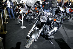 Harley-Davidson FLSTFB Softail Fat Boy Special Royalty Free Stock Photo