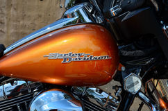 Harley Davidson fuel tank Stock Images