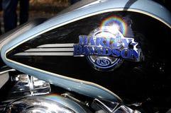 Harley davidson gas or petrol tank Stock Photo