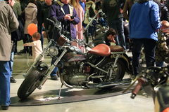Harley-Davidson hand-made restyled Royalty Free Stock Photography