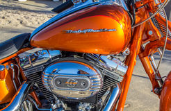 Harley Davidson HD 110 motorbike Stock Photos