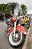 Harley Davidson Heritage Softail Royalty Free Stock Photography