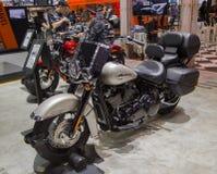 Harley Davidson Heritage Softail Classic 2018 Arkivfoton