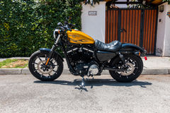 Harley davidson iron 883. Custom paint Royalty Free Stock Image