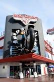 Harley Davidson kawiarnia Obraz Royalty Free