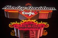 Harley Davidson kawiarnia Zdjęcia Stock