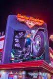 Harley Davidson kawiarnia Fotografia Stock