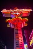 Harley Davidson kawiarnia Obraz Stock