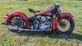1939 Harley-Davidson Knucklehead Στοκ Εικόνες