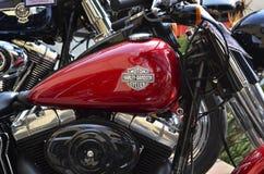 Harley Davidson-Kraftstofftank Stockfoto
