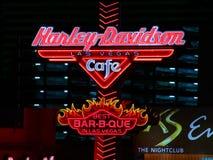 Harley Davidson Las Vegas Cafe Royalty Free Stock Image