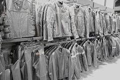 Harley Davidson leather jackets Stock Photo