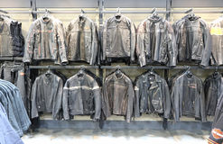 Harley Davidson leather jackets Stock Photography