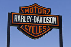 Harley-Davidson Local Signage IV Royalty-vrije Stock Fotografie