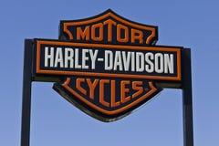 Harley-Davidson Local Signage IV Royalty-vrije Stock Fotografie
