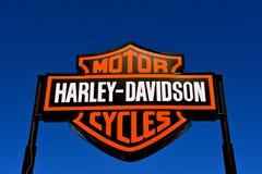 Harley Davidson logo i zdjęcia royalty free