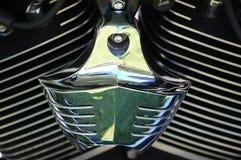 Harley davidson Luftfilter Stockbild