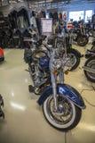 2008 Harley-Davidson, lyx- Softail Royaltyfria Foton