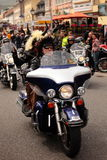 Harley Davidson MCharacters royalty free stock image