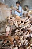 Harley davidson miniature craft Stock Photos