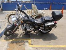 Harley Davidson in Miraflores, Lima, Peru Lizenzfreie Stockbilder
