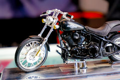 Harley davidson model Royalty Free Stock Photo