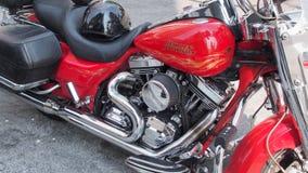 Harley Davidson Motocycle σε νέο Westminister Στοκ Εικόνες