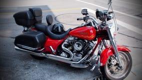 Harley Davidson Motocycle en nuevo Westminister Imágenes de archivo libres de regalías