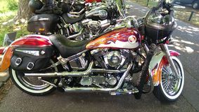 Harley Davidson. Motor bickers day royalty free stock photography