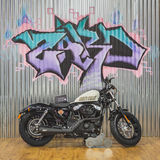 Harley Davidson-motor bij EICMA 2014 in Milaan, Italië Royalty-vrije Stock Afbeelding