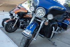 Harley-Davidson motorbikes Stock Images