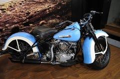 Harley Davidson motorcycleï ¼ AutoChina 2012 royalty-vrije stock afbeeldingen