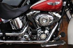 Harley Davidson motorcycleï ¼ AutoChina 2012 Royalty-vrije Stock Fotografie