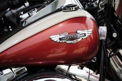 Harley Davidson motorcycleï ¼ AutoChina 2012 stock fotografie
